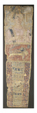 A Romano-Egyptian Painted Linen Mummy Portrait Depicting a Deceased Female in a Pink Dress Giclee Print
