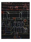 Children of the City; Kinder Von Der Stadt Impressão giclée por Paul Klee