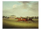 King David' Beating 'surveyor' for the Coronation Cup at Newcastle on July 5, 1815 Giclee Print by John Nost Sartorius