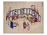 Banquet Giclee Print by Kim Junkeun