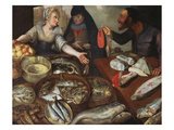A Fish Stall Giclee Print