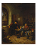 The Interior of a Schoolroom Prints by Adriaen Jansz. Van Ostade