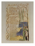 The Little Girl Lost. from 'songs of Innocence' Art by William Blake