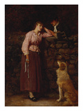 Effie Deans Posters by John Everett Millais