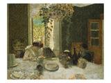 The Dining Room; La Salle a Manger Kunstdrucke von Edouard Vuillard