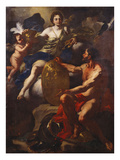 Venus at the Forge of Vulcan Giclee Print by Francesco Solimena