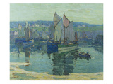 Concarneau Reproduction procédé giclée par Terrick Williams