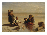 When a Fisherman's Life Is Young Prints by Elchanon Verveer