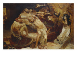 Samson and Delilah Giclee Print by Solomon Joseph Solomon