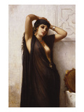 An Odalisque Premium Giclee Print by Charles Landelle
