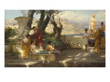 The Connoisseurs Giclee Print by Hendrik Siemiradzki