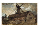 Blatchington Mill Near Brighton, 1825 Giclee Print by John Constable