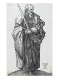 Saint Simon (B.,M. Holl. 49) Prints by Albrecht Dürer