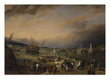 The Admiral's Hard, Stonehouse, Plymouth Prints by Richard Bridges Beechey