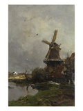 Molen Giclee Print by Jacob Henricus Maris