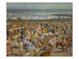 On the Sands, Broadstairs Posters by William Samuel Horton