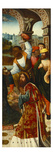The Adoration of the Magi - a Fragment Premium Giclee Print by Master of Delft (Circle of)