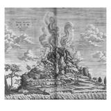 Subterranean World; Mundus Subterraneus Giclee Print by Athanasius Kircher