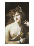Mad Girl Posters by Thomas Lawrence