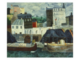 The Seine at Passy Prints by Christopher Wood