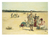 Prayertime in the Desert Giclee Print by Frantz Charlet