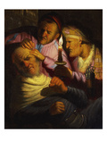 The Sense of Touch: the Stone Operation Posters by  Rembrandt van Rijn