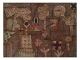 The Gingerbread House; Lebkuchen Bild Print by Paul Klee