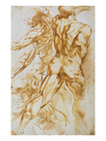 Anatomical Studies: Nudes in Combat Giclee Print by Peter Paul Rubens