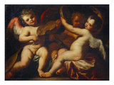 Putti Musicmaking Giclee Print by the Elder (Circle of), Domenico Piola