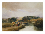 The Thames Near Marlow Giclee Print by Peter De Wint