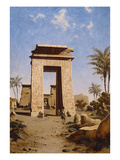 The South Gate, Karnak Art by Paul Rudolf Linke