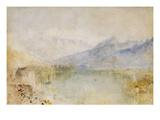 The Lake of Thun, Switzerland Giclee Print by J. M. W. Turner