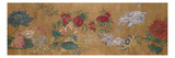 Sprays of Blossoming Prunus, Chrysanthemums, Peonies, Hydrangea, Lotus, Further Flowers and Foliage Giclée-Premiumdruck von Jiang Tingzi (After)