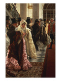 The Woman of Fashion, or La Mondain Giclee Print by James Tissot