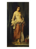 The Bath Giclee Print by Charles Edouard Boutibonne
