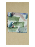 The Territory of a Tomcat; Revier Eines Katers Impression giclée par Paul Klee