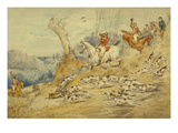 Hunting Scenes: the Kill Print by Henry Thomas Alken