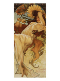 Chocolat Masson - Winter Giclee Print by Alphonse Mucha