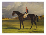 The Earl of Chesterfield's Filly 'Industry', with W. Scott Up, in a Landscape Print by John Frederick Herring I