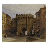 The Bar Gate, Southampton Giclee Print by William Callow