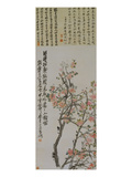 Apricot Blossoms Reproduction procédé giclée par Wu Changshuo
