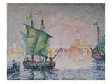 Venice-The Pink Cloud; Venise-Le Nuage Rose Gicléetryck av Paul Signac