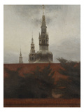 Fredericksborg, Copenhagen Giclee Print by Vilhelm Hammershoi