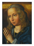 The Virgin at Prayer Prints by Quentin Massys