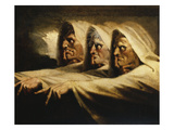 The Three Witches, or the Weird Sisters Giclee Print by Henry Fuseli