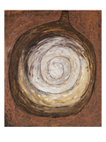 Rounded Bottle; Kurbis Flasche Premium Giclee Print by Paul Klee