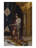 An Odalisque Giclee Print by Rudolphe Ernst