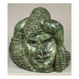 Masque Ornamental Art by Henri Gaudier-brzeska