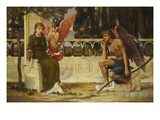 Love and Time Giclee Print by John Melhuish Strudwick