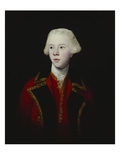 Portrait of George Augustus, 3rd Viscount Howe, Half-Length, Wearing the Uniform of the 1st Guard Giclee Print by Joshua Reynolds
